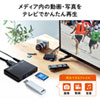 メディアプレーヤー(SDカード・USBメモリ)