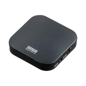 Bluetoothトランスミッターレシーバー(3.5mmステレオミニプラグ・2台同時接続)