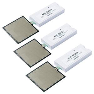 圧力センサー内蔵BLE ビーコン(iBeacon対応・3個セット)