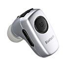 超小型Bluetoothヘッドセット(カナル型・シルバー)