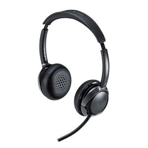 Bluetoothヘッドセット(両耳タイプ・ノイズキャンセリング機能付き)