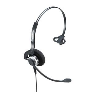 USBヘッドセット(片耳タイプ・コールセンター向け・PS5対応)