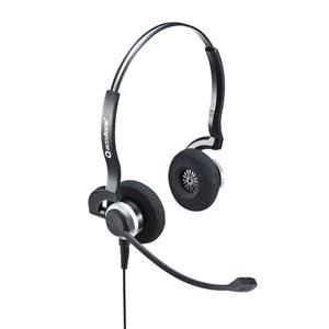 USBヘッドセット(両耳・マイク・単一指向性・手元スイッチ付き・コールセンター・PS5対応)
