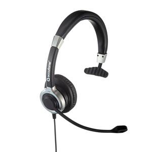 ノイズキャンセリングマイク付きUSBヘッドセット(片耳タイプ・PS5対応)