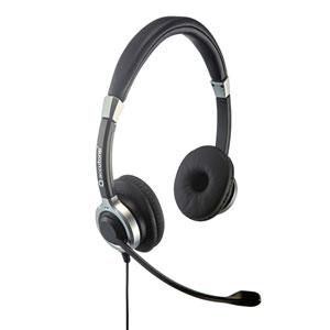 ノイズキャンセリングマイク付きUSBヘッドセット(両耳タイプ・PS5対応)
