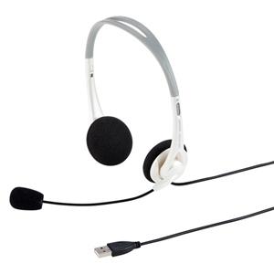 USBヘッドセット(ホワイト・PS5対応)