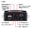 ハンズフリー拡声器スピーカー(マイク・授業・飛散・飛沫)