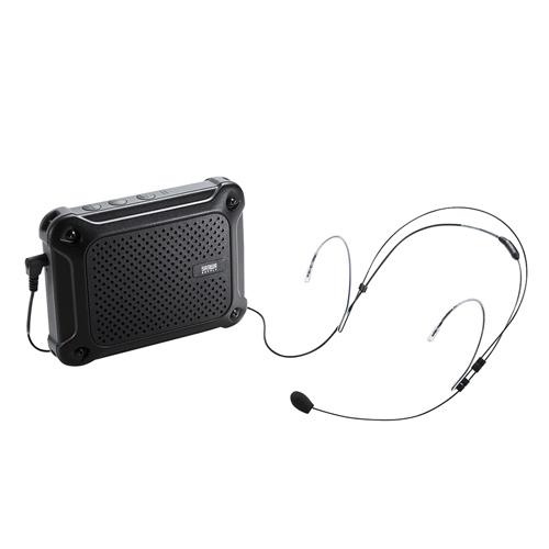 防水ハンズフリー拡声器スピーカー(IPX4対応・最大16W・乾電池駆動・マイク・授業・飛散・飛沫)