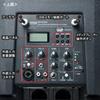 ワイヤレスマイク付き拡声器スピーカー(最大200W出力・キャスター付き・授業・飛散・飛沫)