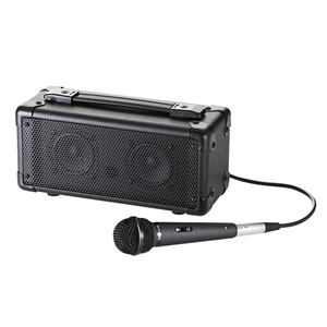 マイク付き拡声器スピーカー(授業・飛散・飛沫)