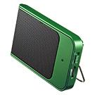 【わけあり在庫処分】 ポータブルスピーカー Paleta de Colores(グリーン・Verde)