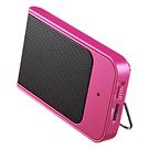 【わけあり在庫処分】 ポータブルスピーカー Paleta de Colores(ピンク・Rosa)