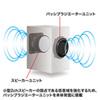 ハイパワーUSBスピーカー(最大25.6W出力・ブラック)