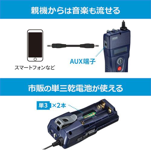 ワイヤレスガイドシステム(親機・飛沫・飛散・旅行・団体・ガイドレシーバー・遠隔)