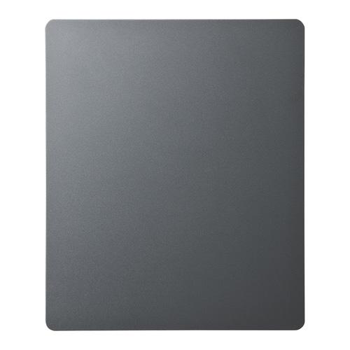 ずれないマウスパッド(ハードタイプ 高吸着・グレー W150×D180×H1.2mm 滑り止め )