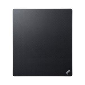 マウスパッド(薄型・厚さ0.5mm・Sサイズ・W150×H170・ブラック)
