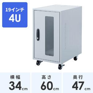 HUBボックス(4U・19インチ・簡易防塵)