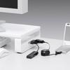 USBハブ付き机上液晶モニタスタンド(スリムタイプ)