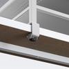 プリンタ台 卓上 収納 棚付き 幅50cm×奥行き37cm×高さ16.7cm ライトグレー