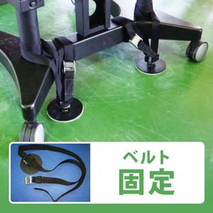 マシンホルダーベルト 2個入り 機器の固定・移動防止(工場・倉庫地震対策) リンテック21