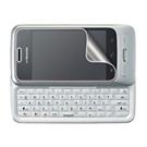 指紋防止光沢液晶保護フィルム(ドコモ LG Optimus chat L-04C用)