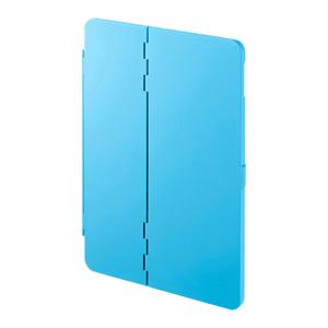 9.7インチiPad2017モデル ハードケース(スタンドタイプ・ブルー)