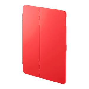 9.7インチiPad2017モデル ハードケース(スタンドタイプ・レッド)