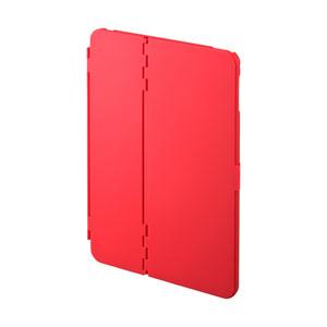 iPad mini 2019 ケース(ハードケース・スタンドタイプ・レッド)