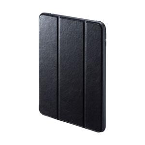 iPad mini 2019 ケース(ソフトケース・高級PUレザー・Apple Pencil収納ポケット付き・ブラック)