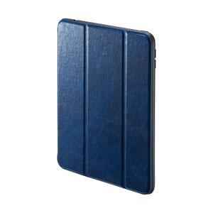 iPad mini 2019 ケース(ソフトケース・高級PUレザー・Apple Pencil収納ポケット付き・ブルー)
