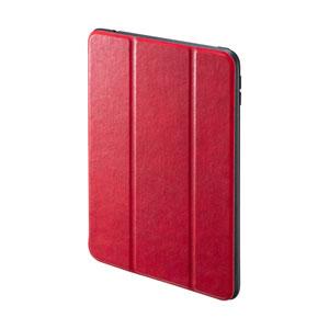 iPad mini 2019 ケース(ソフトケース・高級PUレザー・Apple Pencil収納ポケット付き・レッド)