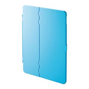 iPad Air  2019 ケース(ハードケース・スタンドタイプ・ブルー)
