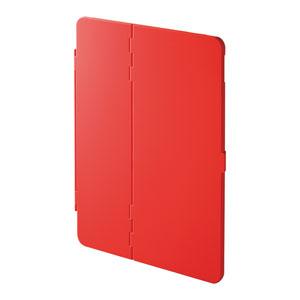 iPad Air  2019 ケース(ハードケース・スタンドタイプ・レッド)
