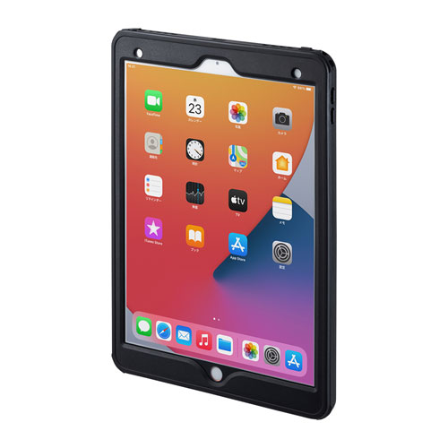 iPad Air 2019用防水ケース(耐衝撃・IP68・簡易ストラップ・リングスタンド付き)