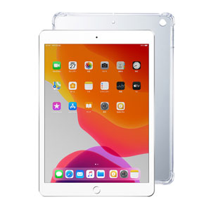 iPad 10.2インチ クリアハードケース
