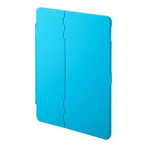 iPad 10.2インチ用ケース(第7世代・ハードケース・耐衝撃・耐熱・スタンドタイプ・ブルー)