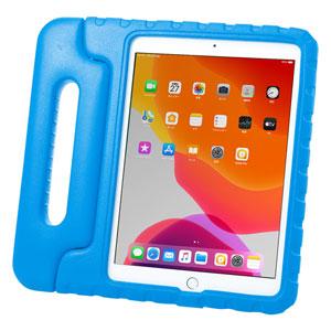 iPad 10.2インチ用ケース(第7世代・衝撃吸収・セミハード・子供用・ブルー)