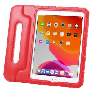 iPad 10.2インチ用ケース(第7世代・衝撃吸収・セミハード・子供用・レッド)