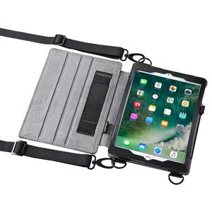 【わけあり在庫処分】ショルダーベルト付きケース (iPad Pro9.7 / iPad Air2対応・スタンド機能付き)