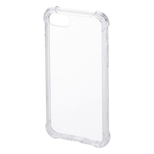 iPhone 8・7・SE(第2世代、2020年モデル)耐衝撃ケース(クリア)