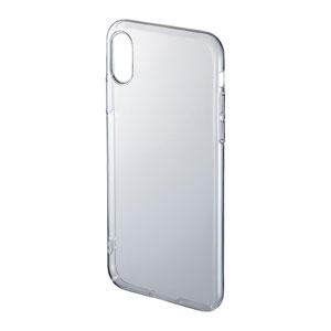 【わけあり在庫処分】iPhone XS クリアケース(ハード)