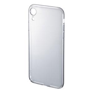 【わけあり在庫処分】iPhone XR クリアケース(ハード)