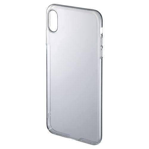 【わけあり在庫処分】iPhone XS Maxクリアケース (ハード)