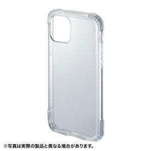 iPhone 11 Pro用ケース(耐衝撃・TPU・ストラップホルダー・クリア)