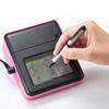 感圧式タッチペン(短めコンパクトサイズ・シルバー)