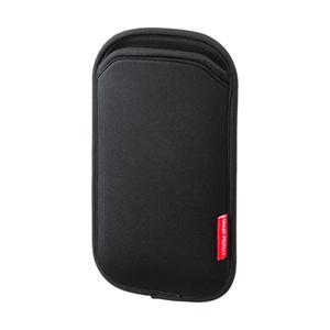 5インチスマートフォンケース(ブラック)