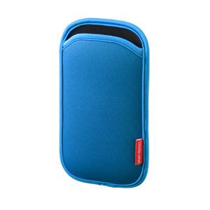 5インチ スマートフォンケース(ブルー)