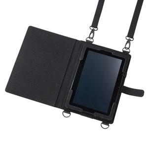 ショルダーベルト付き12.5型タブレットケース