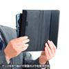 タブレットPCマルチサイズケース(8インチ・スタンド機能付き)