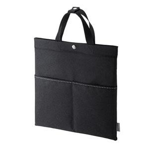 タブレット用トートバッグ(ブラック・PDA-IPAD1605シリーズ対応)